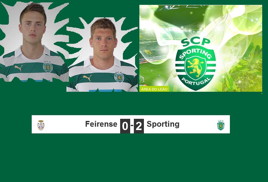 Sporting Feirense: Viver Parambos: Últimas Da Liga, Sporting Vence O Feirense