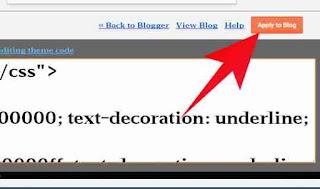 Blog hyper link color change kese kare 3