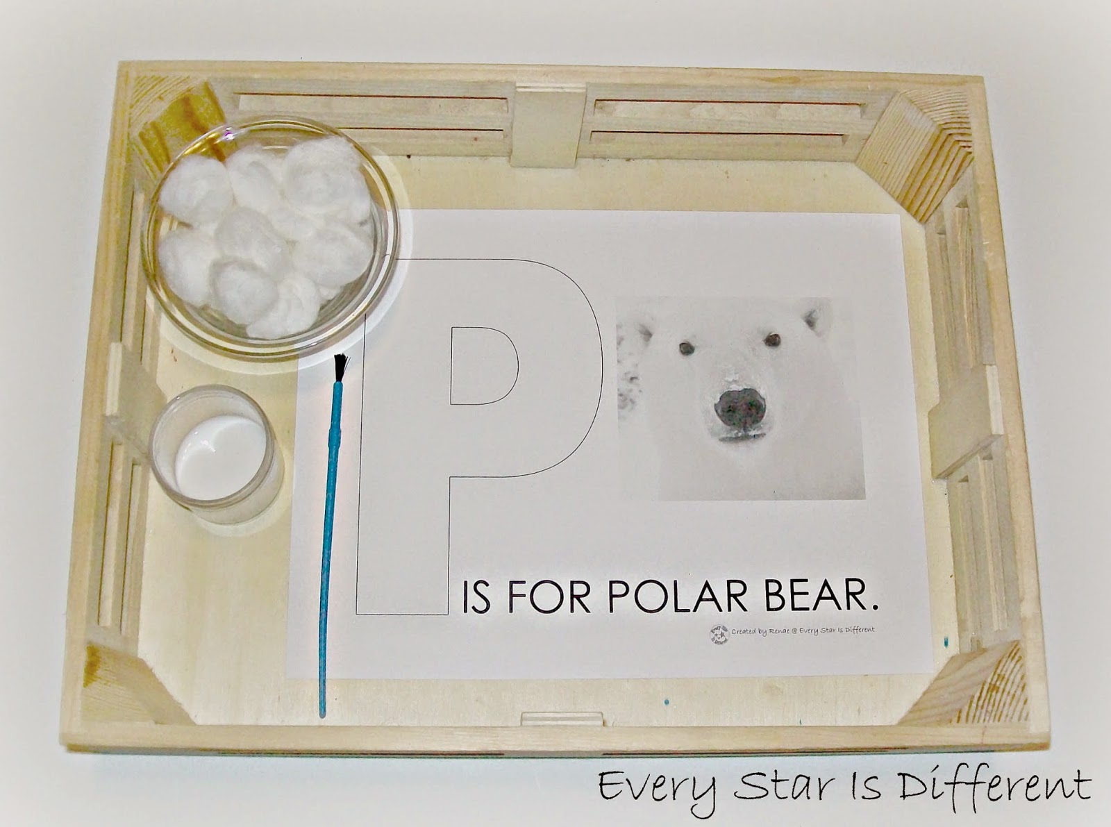 Polar Bear Activities For Tots Amp Preschoolers W Free Printables