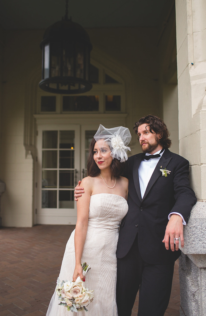 Adventures in Fashion's vintage-inspired wedding