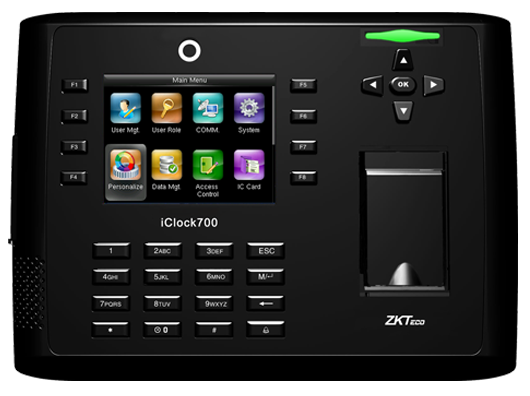 zkteco iClock700 Time Attendance and Access Control Terminal