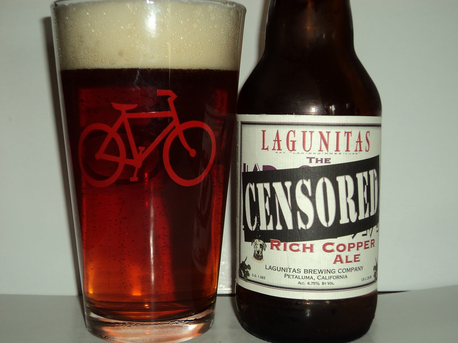 Water + Malt + Hops + Yeast = Beer: Lagunitas - The Censored
