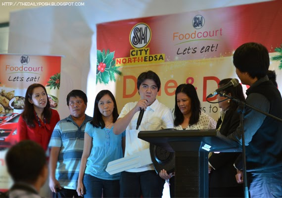 Dine & Drive [2nd Batch]: SM Foodcourt Chevy Sparks Winners