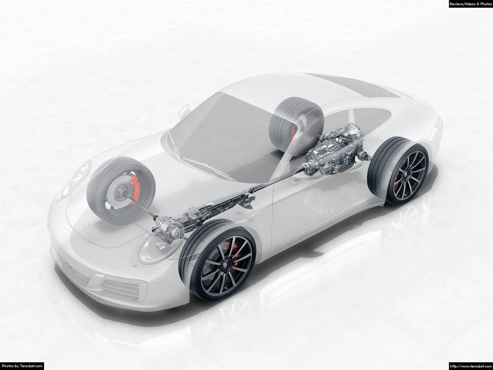 Hình ảnh xe ô tô Porsche 911 Carrera 4 2016 & nội ngoại thất