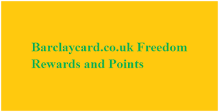 Barclaycard Freedom Rewards and Points