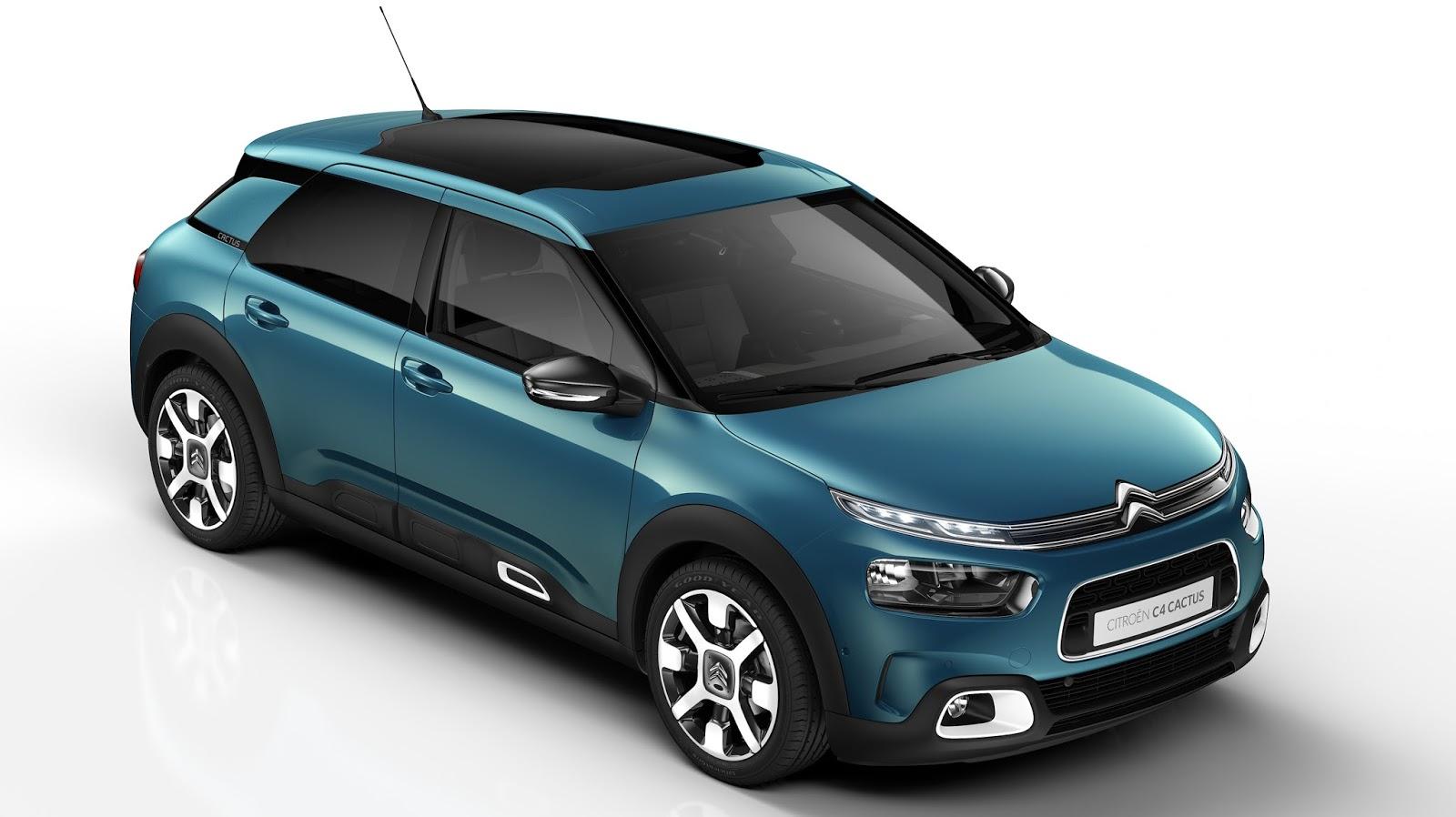 Citroen C4 Cactus Green >> Menos Airbumps, más confort: Citroën renueva al C4 Cactus : Autoblog Uruguay | Autoblog.com.uy