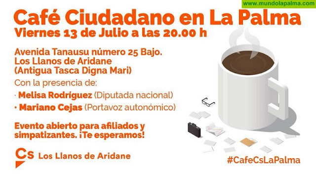 Café Ciudadano en Los Llanos de Aridane