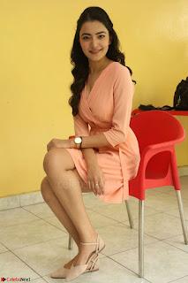 Rukshar Mir in a Peachy Deep Neck Short Dress 011.JPG