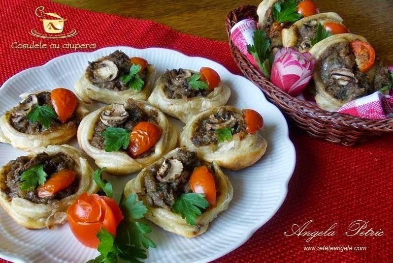 Reteta cosulete cu ciuperci