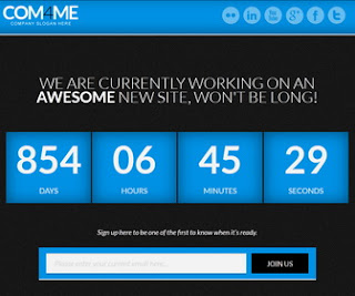 COM4ME Under Construction Blogger Template