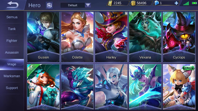 Hero Mage Paling Sakit di Mobile Legends
