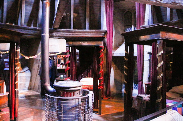 Dortoir Griffondor Studios Harry Potter