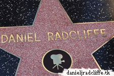 Updated(2): Daniel Radcliffe is being honored with a star on the Hollywood Walk of Fame