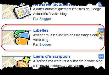 Créer un nuage de libellés ou de tags pour votre Blog Blogspot