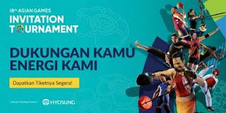 cari tiket event 18th asian games invitation tournament