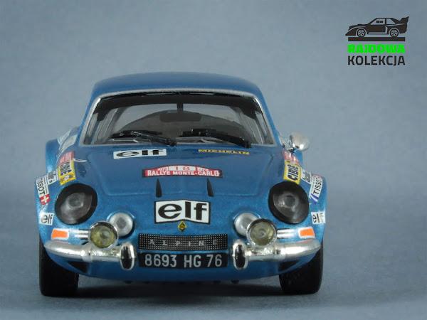 IXO RAC013 Alpine Renault A110 Rallye Monte Carlo 1973