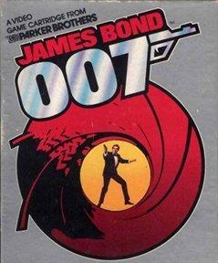 Portada del videojuego para consolas James Bond 007 de 1983