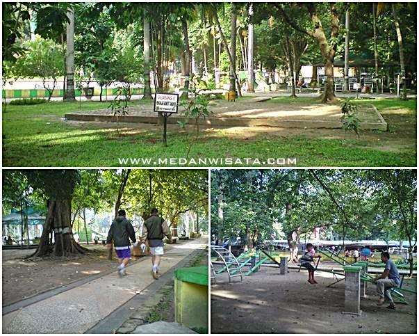 Sejuknya Taman Ahmad Yani Medan
