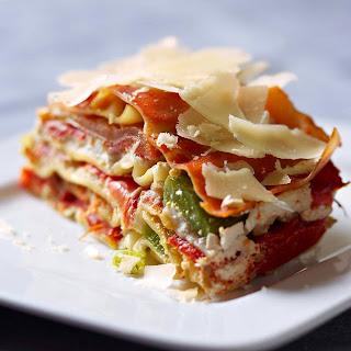 Recette des lasagnes aux légumes d'été