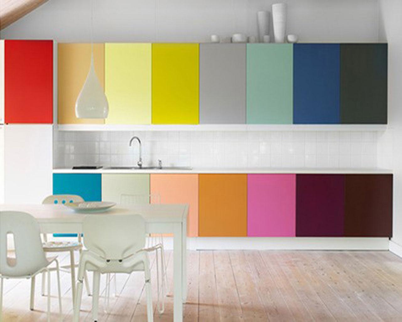 Desain Dapur Minimalis Unik Full Color 01
