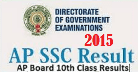 AP SSC Results 2015-AP 10th Results 2017