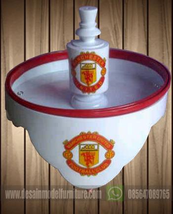 Tebok lovebird motif klub bola manchester united (MU)