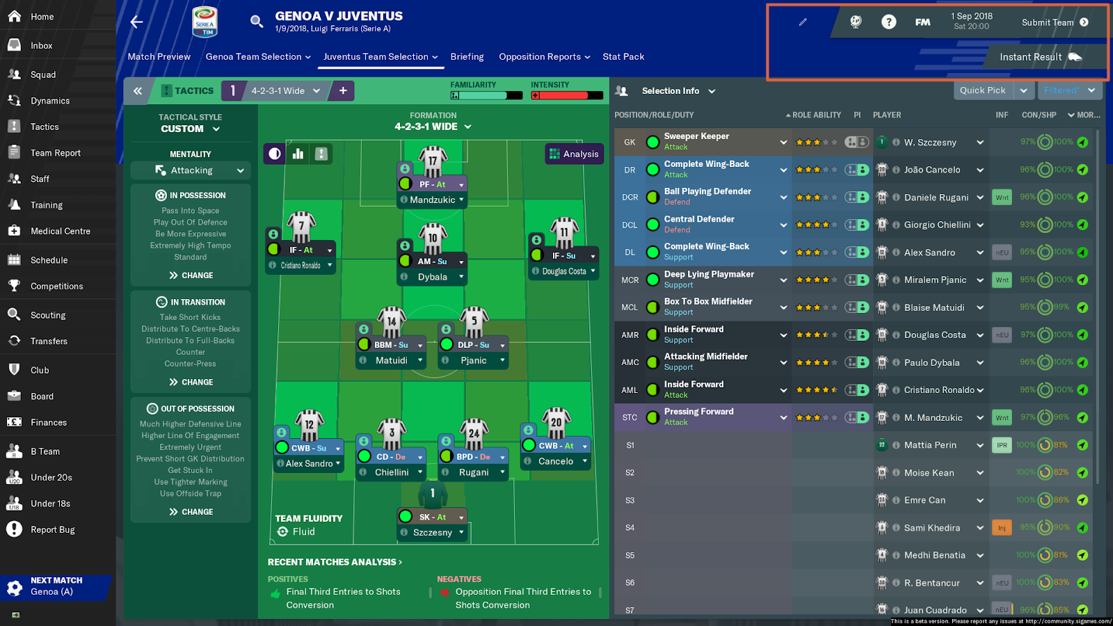 FM19 Instant Result Preview