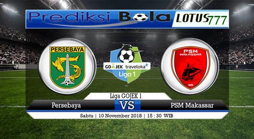 PREDIKSI SKOR Persebaya vs PSM Makassar 10 NOVEMBER 2018