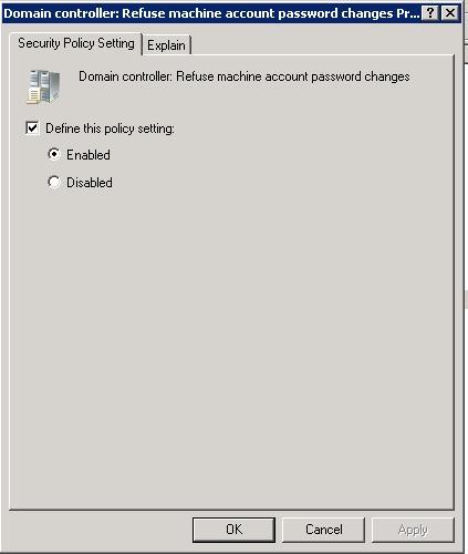 vertrauensstellung windows 10