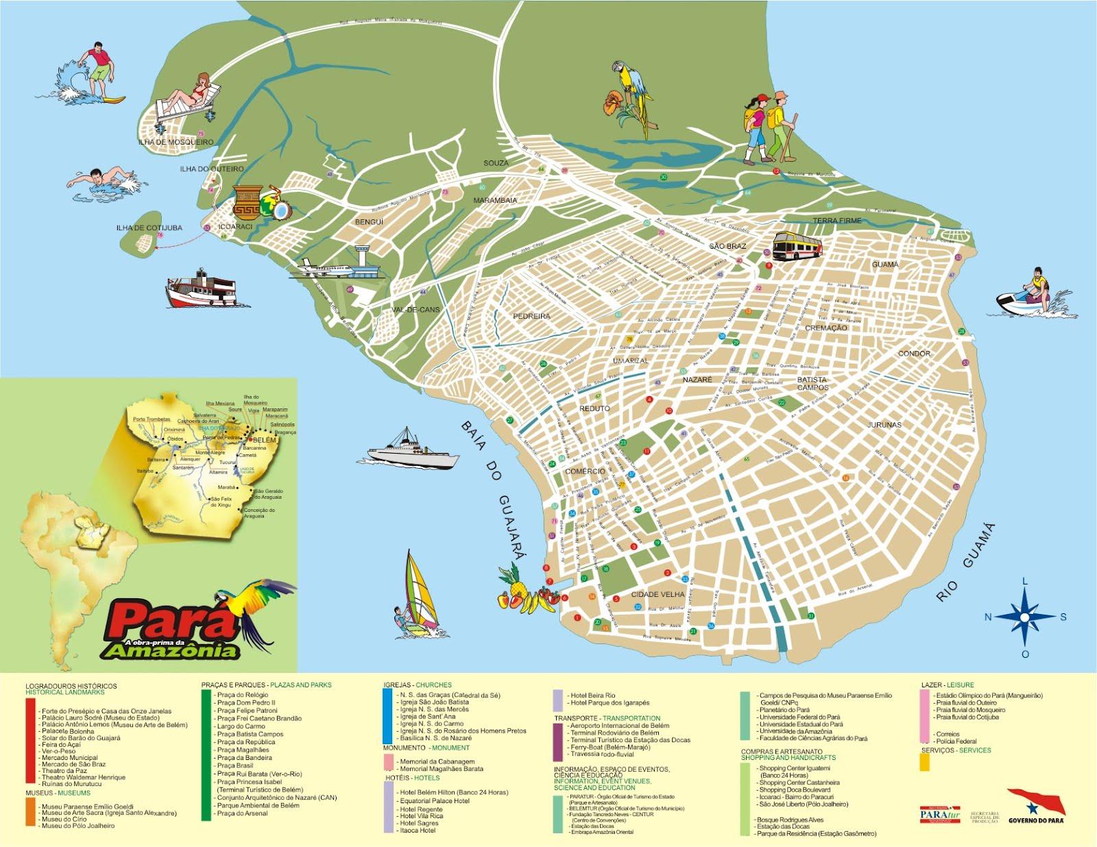 Mapas de Belm PA MapasBlog