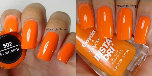 Sally Hansen + Crayola - Sunset Orange