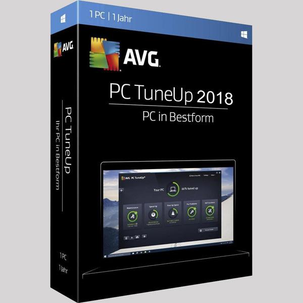 تحميل برنامج تسريع وتنظيف الجهاز AVG PC TuneUp 2018