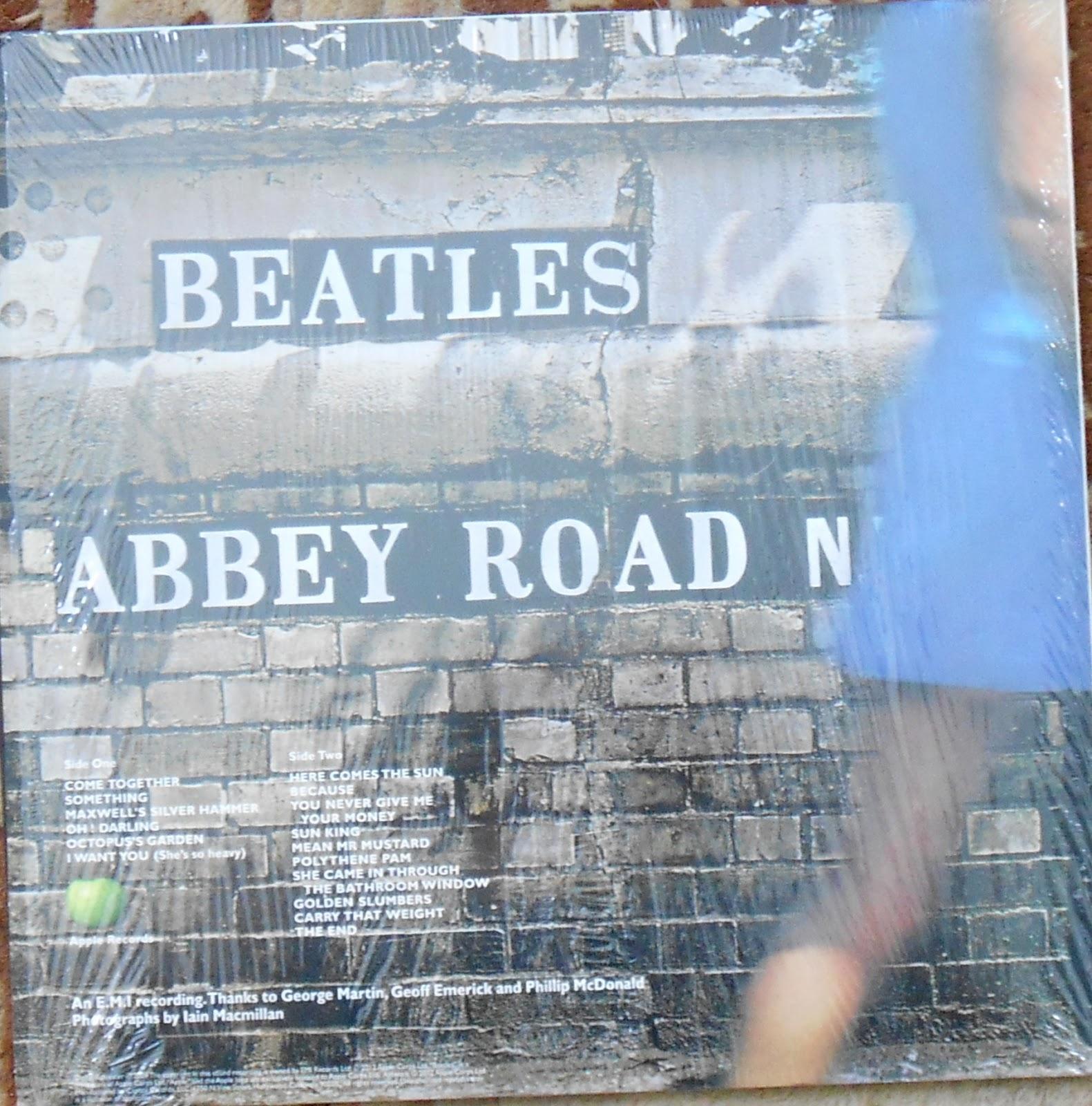 My Vinyl Lp Reviews The Beatles Abbey Road 2012 Remaster