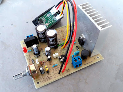 Versatile LM317 power supply project