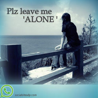 Alone whatsapp images