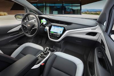 Chevrolet Bolt EV Recharged for 2017