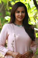 Priya Anand in simply Pink at an interview for movie KOOTATHIL ORUTHAN~  Exclusive celebrities galleries 012.jpg