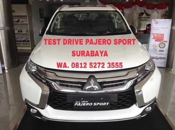 Test Drive Pajero Sport Surabaya