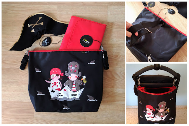 the pirate bolso silla de paseo kiwisac