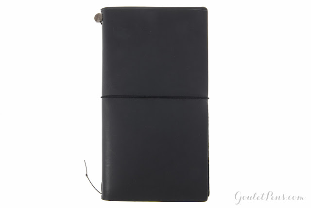 Midori Traveler's Notebook - Black Regular