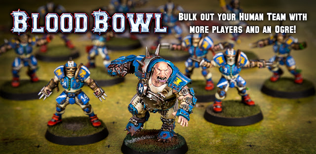 Element Games: Blood Bowl Plastic Ogre and Reiklander Reavers Pre-Order