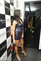 Sanjana looks happy in sparkling short Deep neck Purple Gown ~  Exclusive 03.JPG