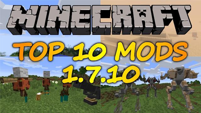 best minecraft mods 1.7.10