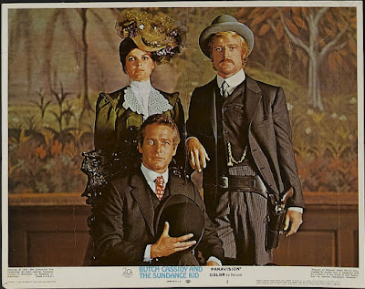 Paul Newman Robert Redford y Katherine Ross