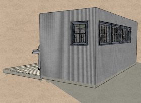 Small Scale Homes New 8 X 20 Shipping Container Home Design