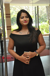 Telugu Actress Swathi Reddy Latest Stills in Black Gown  0061.JPG