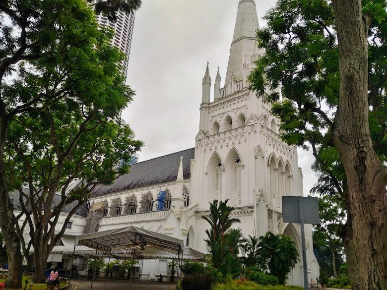 聖安德烈座堂,外面整修中