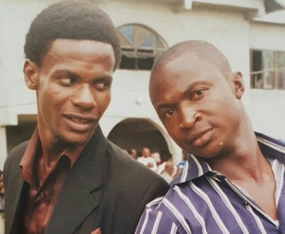 Check out this throwback pic of MC Shakara and Funnybone