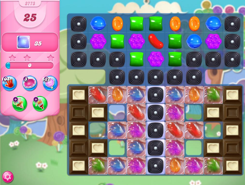 Candy Crush Saga level 3773