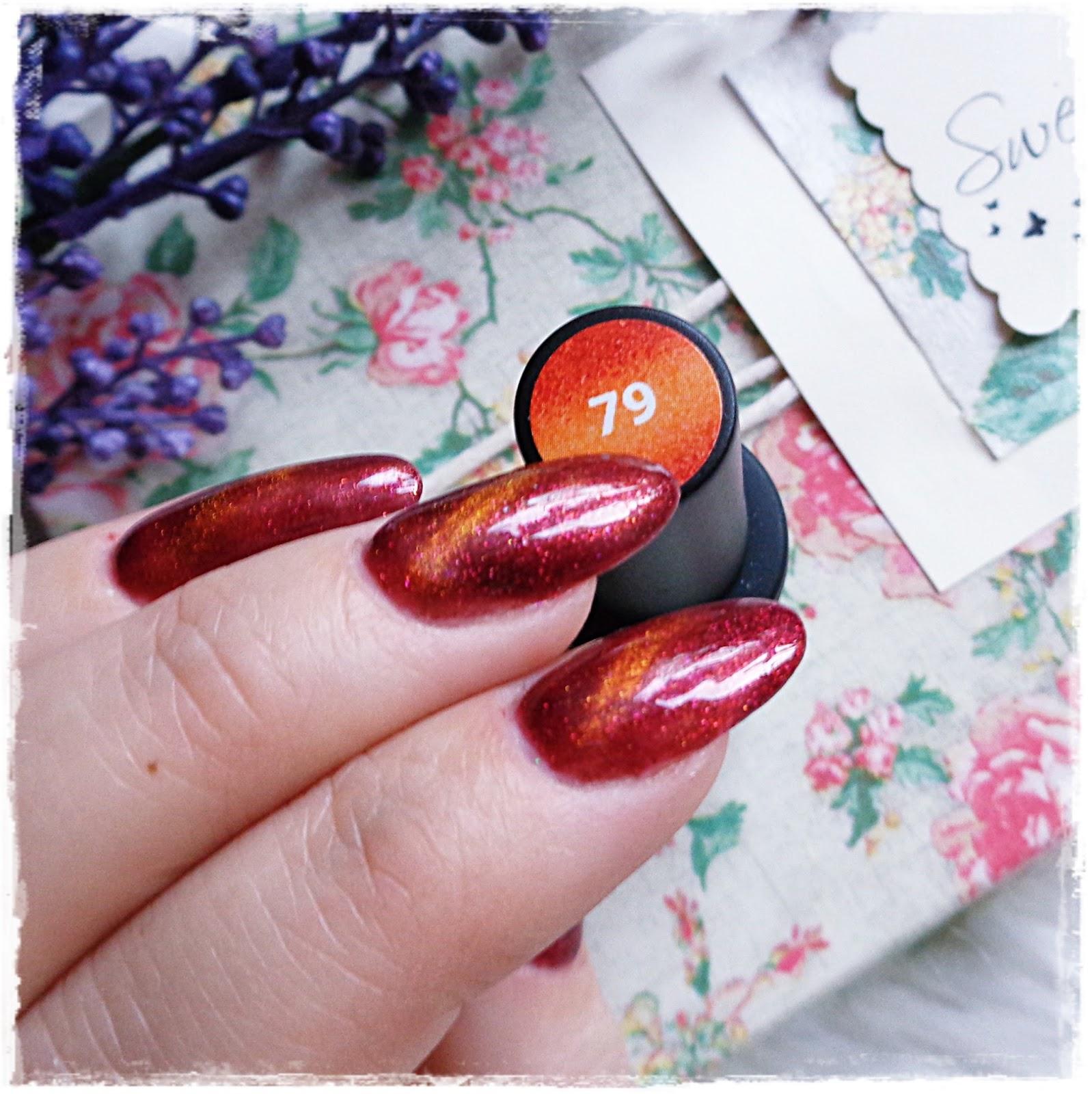 Laboom Magnetic Orange 79 Piękne Kocie Oko Kolorowy świat Terii